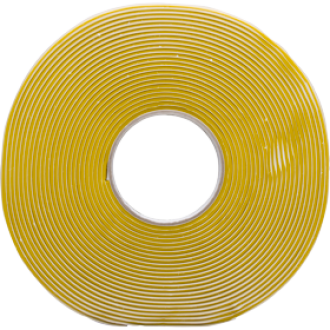 Tacky tape amarillo, resistente a temperaturas hasta 210 ° C